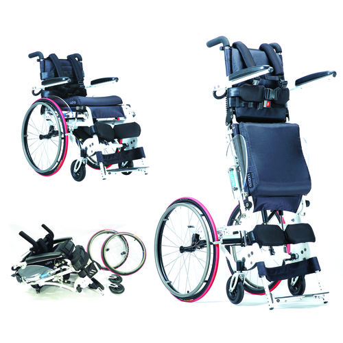 スタンディング車椅子 試乗